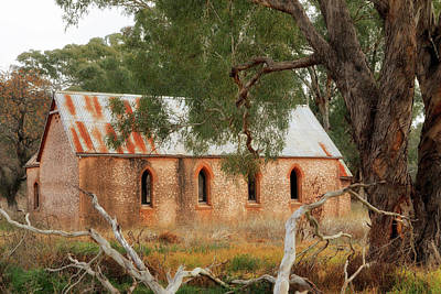 Photograph - Abandoned Country Church by Nicholas Blackwell