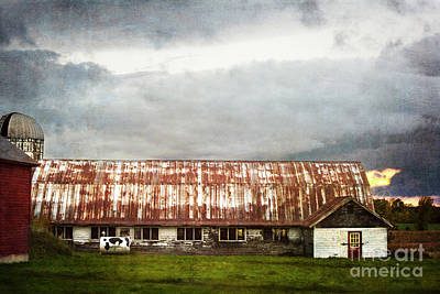 Photograph - Abandoned Dairy Farm by Judy Wolinsky