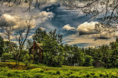 Photograph - Abandoned - Danbury Nh  by Naturally NH