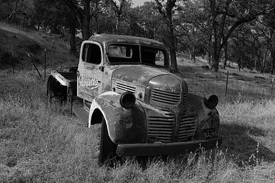 Photograph - Abandoned Dodge Truck by Frank Wilson