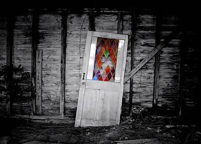 Photograph - Abandoned Door  by Nathan Little