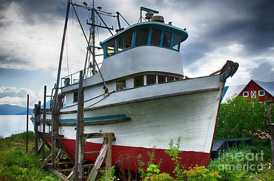 Photograph - Abandoned Dream Alaska 3 by Bob Christopher
