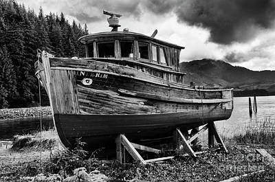 Photograph - Abandoned Dream Alaska by Bob Christopher