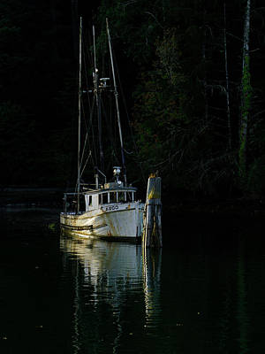 Photograph - Last Docking by Inge Riis McDonald