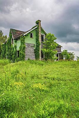 Old Abandoned Farmhouse Photograph - Abandoned Dreams 2 by Steve Harrington