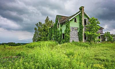 Old Abandoned Farmhouse Photograph - Abandoned Dreams 3 by Steve Harrington