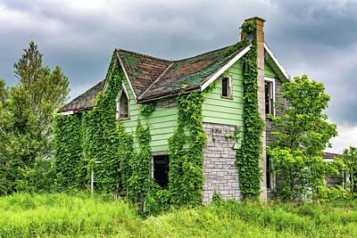 Old Abandoned Farmhouse Photograph - Abandoned Dreams 4 by Steve Harrington