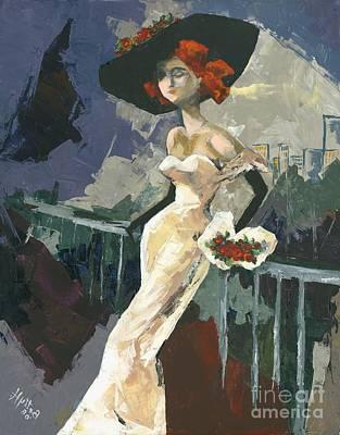 Mood Painting - Abandoned by Elisabeta Hermann