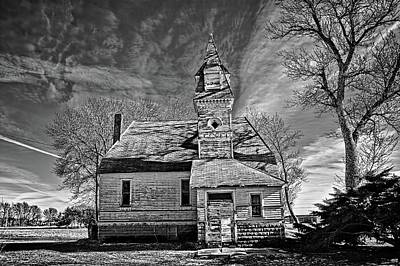 Photograph - Abandoned Faith by Bonfire Photography
