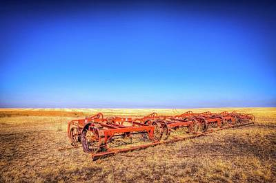 Photograph - Abandoned Farm Equipment by Spencer McDonald