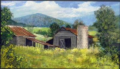 Painting - Abandoned Farm   Sold by Jack Bolin