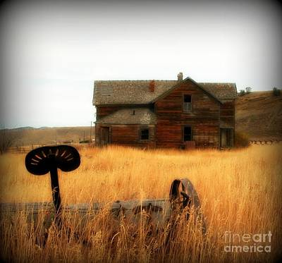 Abandonment Digital Art - Abandoned Farm by Krista Carofano