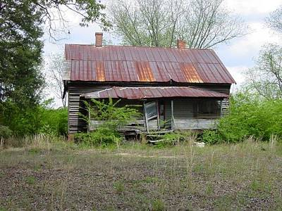 Photograph - Abandoned Farmhouse 2 by Quwatha Valentine