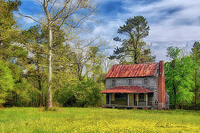 Photograph - Abandoned Farmhouse 4996 by Dan Beauvais