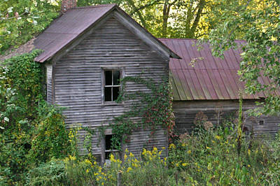 Abandoned Farmhouse On Stacy Fork Art Print