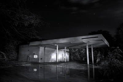 Photograph - Abandoned Gas Station II by Mark Andrew Thomas