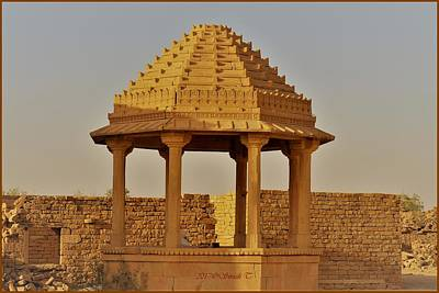 Photograph - Abandoned Gazebo In Kuldhara by Sonali Gangane