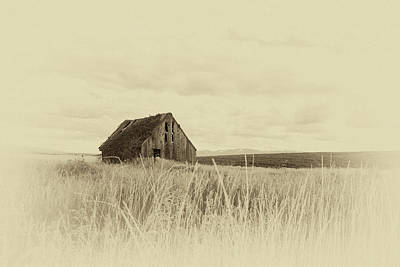 Photograph - Idaho Barn by Gej Jones