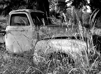 Photograph - Abandoned Gmc Truck by Denise Bruchman