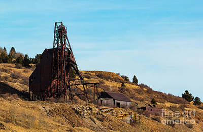 Photograph - Abandoned Gold Mine In Victor Colorado by Steve Krull