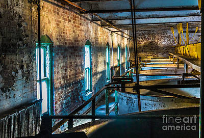 Photograph - Abandoned Grain Vats by Darleen Stry