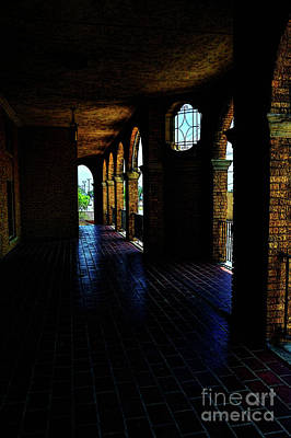 Photograph - Abandoned Hallway by Diana Mary Sharpton