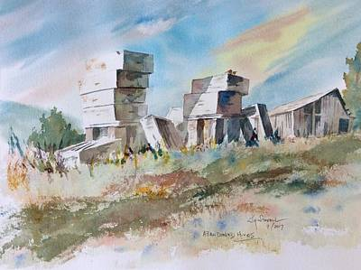 Painting - Abandoned Hives by Jim Stovall
