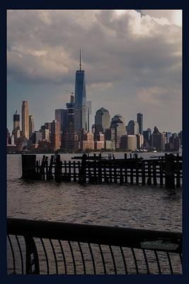 Photograph - Abandoned Hoboken Pier by Leon De Vose