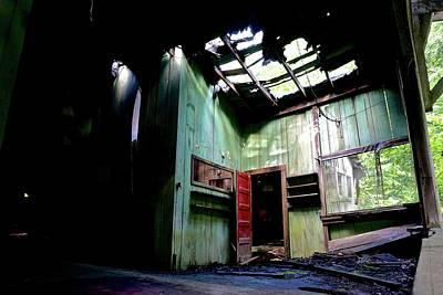 Abandoned Elkmont Wall Art - Photograph - Abandoned Home by Micajah McCurry