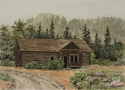 Painting - Abandoned Homestead by Frank Townsley