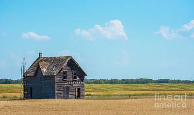 Photograph - Abandoned Homestead by Bianca Nadeau