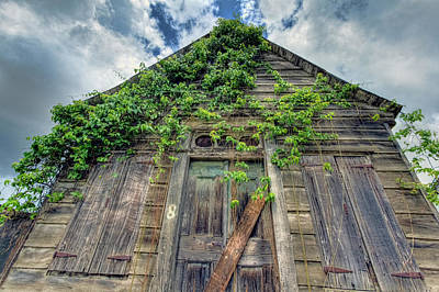Photograph - Abandoned House # 8 by Nadia Sanowar