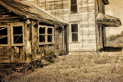 Photograph - Abandoned House 2 by Bonnie Bruno