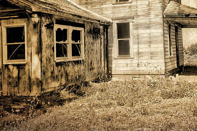 Photograph - Abandoned House 3 by Bonnie Bruno