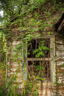 Photograph - Abandoned House East Texas by Micah Goff