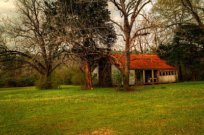 Photograph - Abandoned House by Ester Rogers
