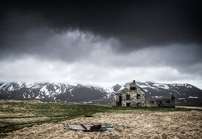 Abandoned House In Iceland Art Print by Matthias Hauser