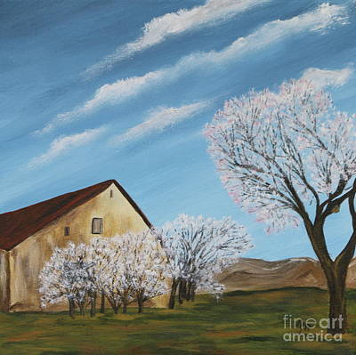 Abandoned House In Spring Art Print by Christiane Schulze Art And Photography
