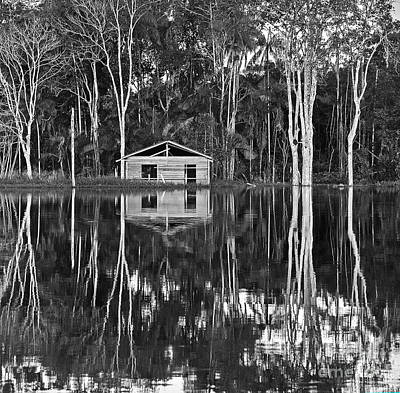 Photograph - Abandoned House In The Amazon by Nareeta Martin