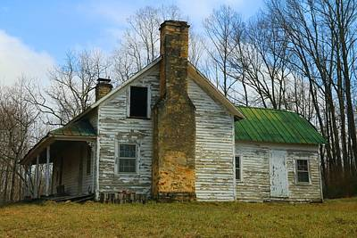 Photograph - Abandoned House by Kathryn Meyer