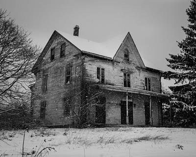 Photograph - Abandoned House by Kirkodd Photography Of New England