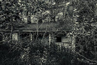 Photograph - Abandoned House Near Baddeck, Cape Breton by Ken Morris