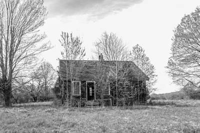 Photograph - Abandoned House Queenstown, Md  by Charles Kraus