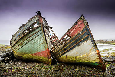 Photograph - Abandoned II by Peter OReilly