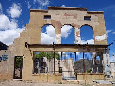 Photograph - Abandoned In Jerome Az by Anne Sands