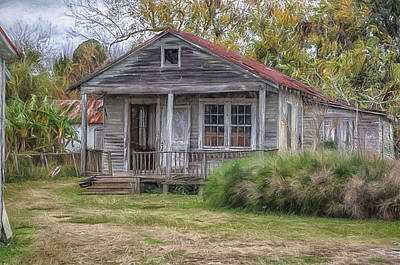 Canon 6d Painting - Abandoned In Louisiana by Shane Adams