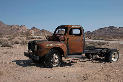 Photograph - Abandoned In Rhyolite by Kristia Adams