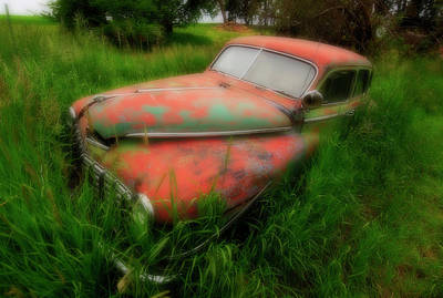 Abandoned In The Palouse Art Print