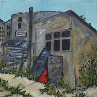 Painting - Abandoned by Judith Rhue
