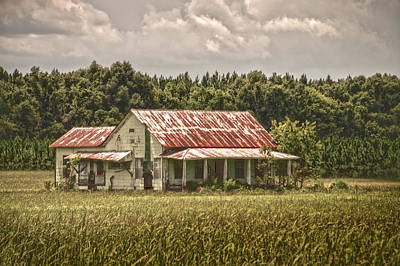 Photograph - Abandoned by Judy Hall-Folde